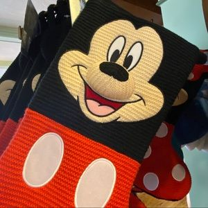 🎄Disney Mickey Mouse Knitted Christmas Stocking